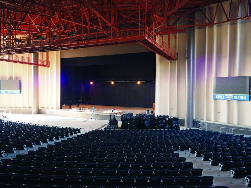 The Rose Music Center At The Heights Blueprint