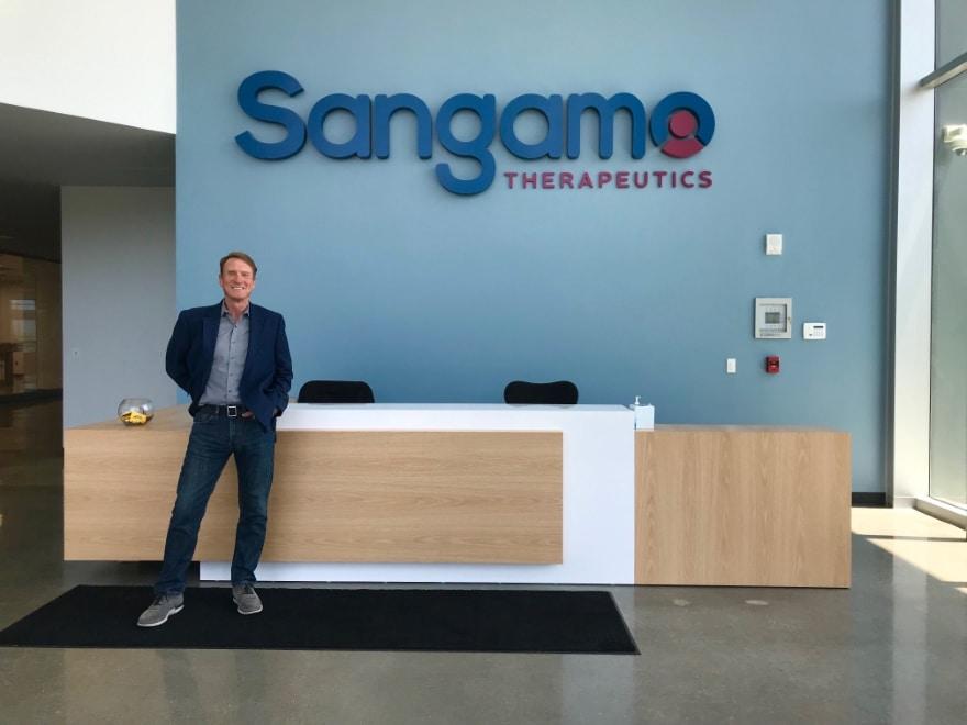 Chris Holman – Sangamo Therapeutics Blueprint Magazine