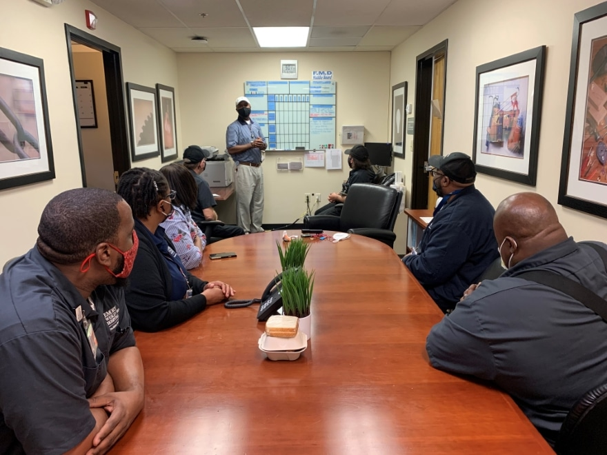 Montay Parker | Director of Facilities Management | Emory Healthcare